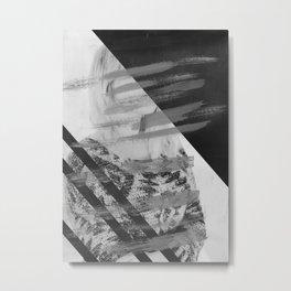 Won't Be Erased Metal Print