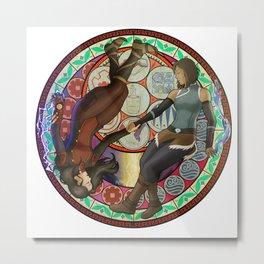 Korrasami - Circle Metal Print