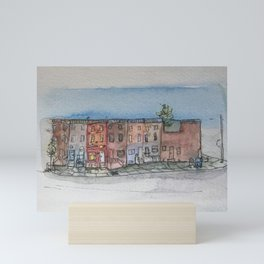 My Neighborhood Mini Art Print