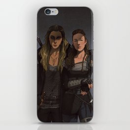 Her Second iPhone Skin