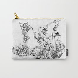 Untitled Melodies (Black and White) Carry-All Pouch