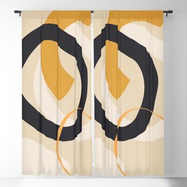 Abstract Shapes 46 Blackout Curtain