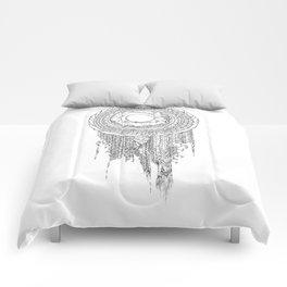 Shifting Moon Tide Dream Catcher Mandala Comforters
