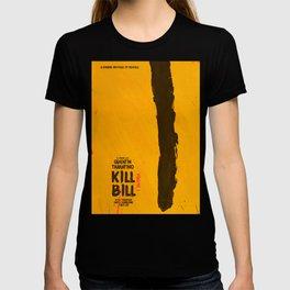 Kill Bill, Quentin Tarantino, minimal movie poster,  Uma Thurman, Lucy Liu, alternative film T-shirt