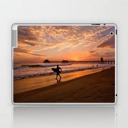 Surf City Sunsets   9/10/15   Huntington Beach California  Laptop & iPad Skin