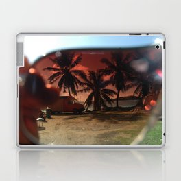 bora bora sunglasses Laptop & iPad Skin