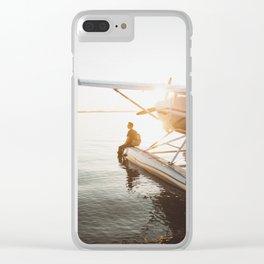 Seaplane Clear iPhone Case