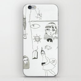 Doodles iPhone Skin