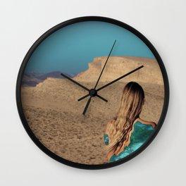 Desert #3 Wall Clock