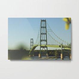 Narrow Bridge Metal Print