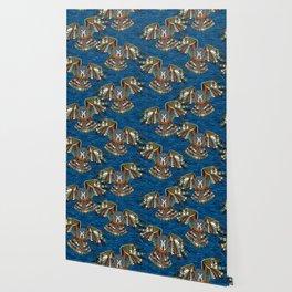 night owl blue Wallpaper
