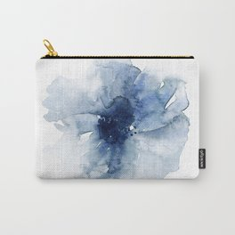 Blue Watercolor Poppies #2 Carry-All Pouch