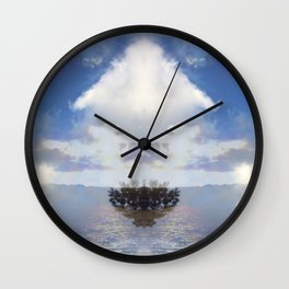 Realms of Direction Wall Clock