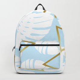 Watercolor tropical leaf XII Backpack