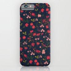 Pink Floral iPhone 6 Slim Case