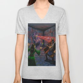 Demi-Lich Unisex V-Neck