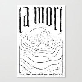 La Mort Canvas Print