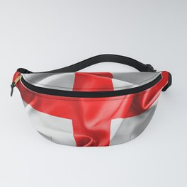 English St Georges Cross Flag Fanny Pack