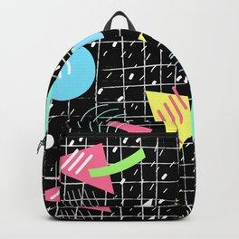 Memphis Style Vibes (Dark) Backpack