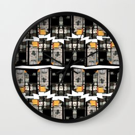The Two Miraflores Wall Clock