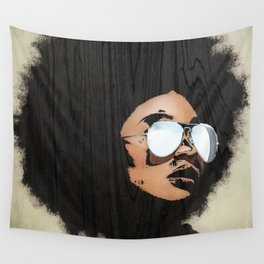 Venus Afro Wall Tapestry