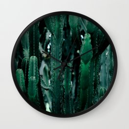 Cactus 07 Wall Clock