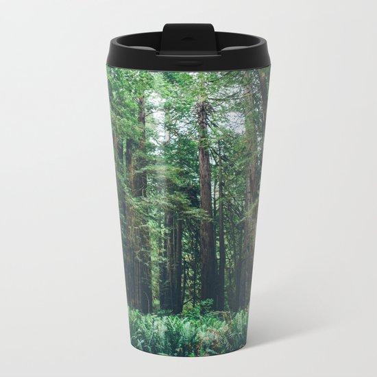 Redwood Forest  Metal Travel Mug