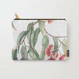 Flowering Eucalyptus Branch Carry-All Pouch
