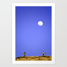 surfEXPLORE Western Sahara Art Print