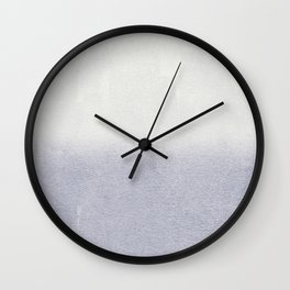 FADING GREY Wall Clock