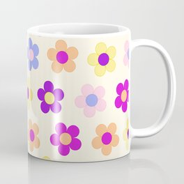 Flower Power Design Coffee Mug