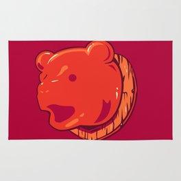 Bear prize Rug