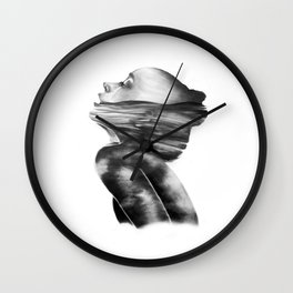 Dissolve // Illustration Wall Clock