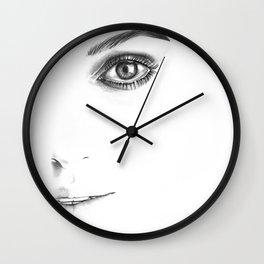 Keira Knightley Wall Clock