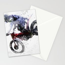 Nose Stand - Motocross Move Stationery Cards