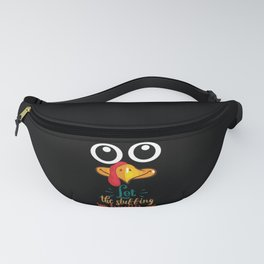 Let The Stuffing Begin Turkey Family Thanksgiving Fanny Pack