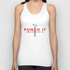 Punch it - Zombie Survival Tools Unisex Tank Top