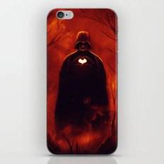 Heart Vader iPhone & iPod Skin