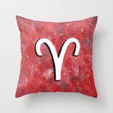 Zodiac sign : Aries Throw Pillow