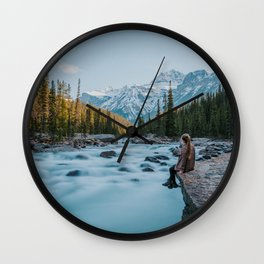 Mistaya Canyon Wall Clock