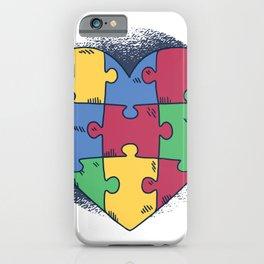 Heart Puzzle iPhone Case