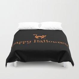 Happy Halloween! Duvet Cover