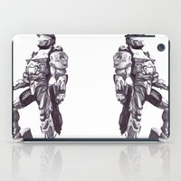master chief iPad Cases featuring Master Chief 117 by DeMoose_Art