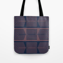 Bicolor Geometric I Tote Bag