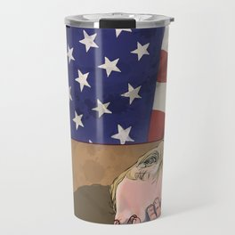 Stars and Stripes (January 2017) Travel Mug
