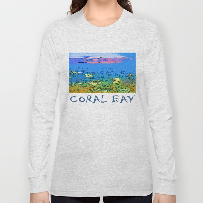 Coral Bay Dreams Long Sleeve T-shirt