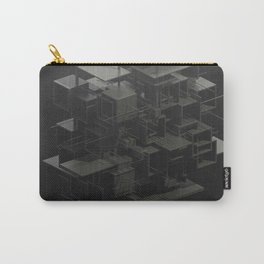 Abstract Construction Carry-All Pouch