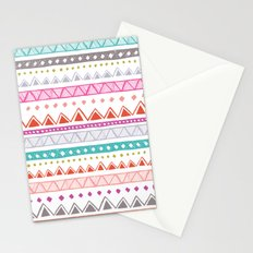Half Full Stripe Stationery Cards