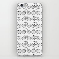bicycles iPhone & iPod Skins featuring Bicycles by Zen and Chic