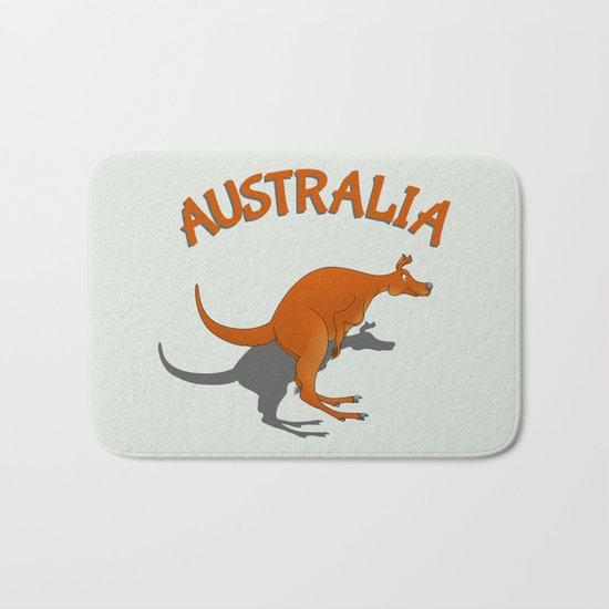 Kangaroo Australia Bath Mat
